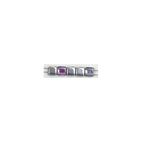 TILA kralen 6x6mm crystal vitrail light 25st.