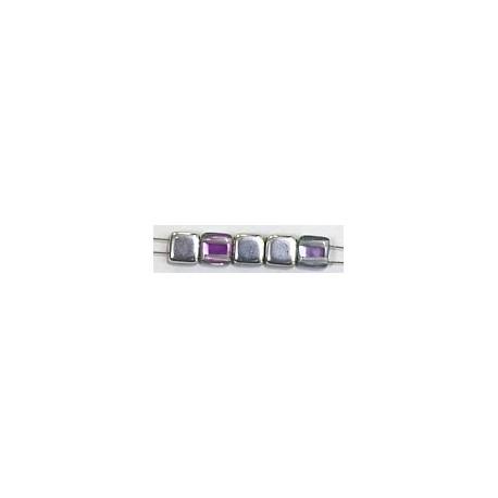 TILA kralen 6x6mm crystal vitrail light 25st.