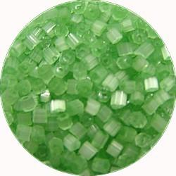 Staafjes 2mm licht groen satin 25 gr