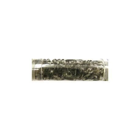 Gutermann druppels 3mm rookgrijs ca.90stuks