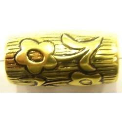metallookkraal 29x15mm goudkl. per stuk