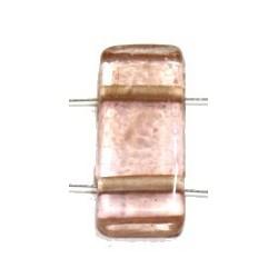 Glaskraal 11x24mm 2 gaats tr. l.zalm 5st.