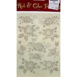 Rub & Glue transfer rozen per vel