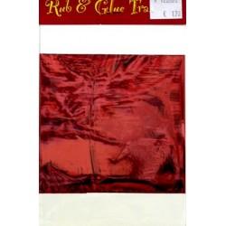 Rub & Glue Metallic rood per vel