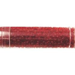 Gutermann rocailles 9/0 wasbaar rood 12 gram