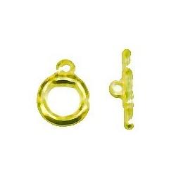 kapittelsluiting 20mm goudkleurig p/st