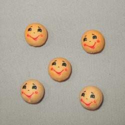 Wattengezicht 18mm lachend jongen