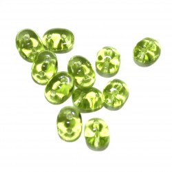 Twin Bead transparant groen 10gram