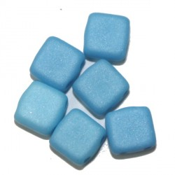 Tila kralen 6mm satin babyblauw 25st