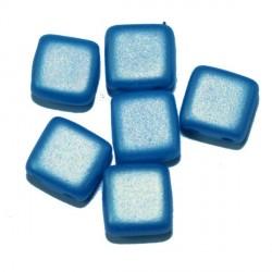 Tila kralen 6mm satin hemelsblauw 25st