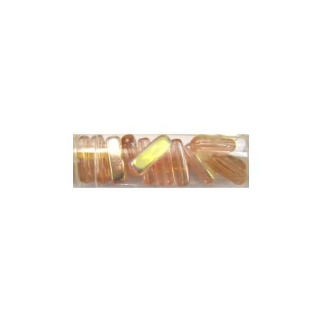 Gutermann cylinderparels15mm rose AB 15st