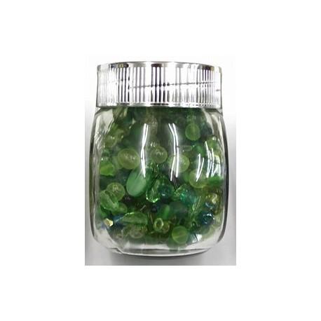 Gutermann Kralenmix groen180 gram
