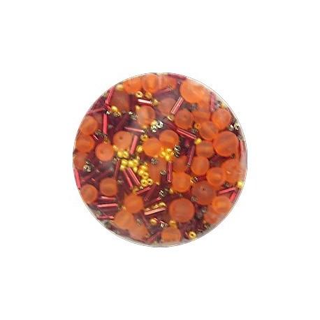 Gutermann kralenmix oranje 110 gram