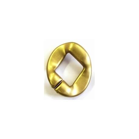kunststof ring 40mm goudkl. per stuk