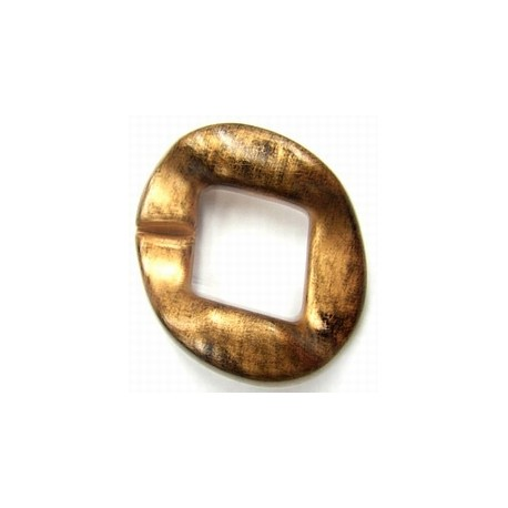 kunststof ring 40mm koffiekl. per stuk