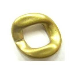 kunststof ring 20mm matgoudkl. 4 stuks