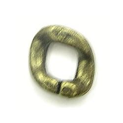 kunststof ring 20mm groenkoper 4 stuks