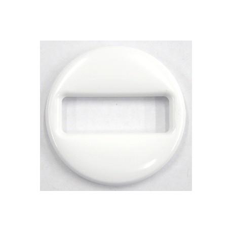 Ronde schakel 48x7mm wit per stuk