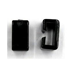 Schakel voor B7162 zwart 22x12mm per stuk