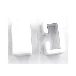 schakel voor B7162 wit 22x12mm per stuk