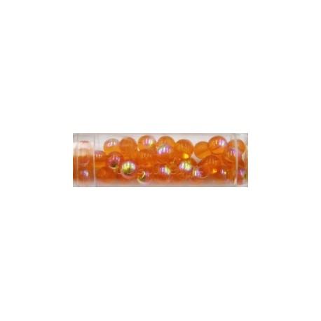 Gutermann regenboogparel 6mm oranje ca40