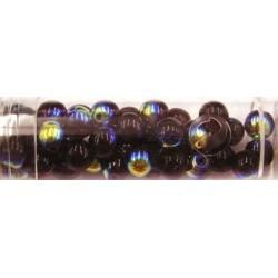 Gutermann regenboogkralen 6mm donkerrood 40st
