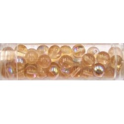 Gutermann regenboogparels 6mm licht roze ca 40st.