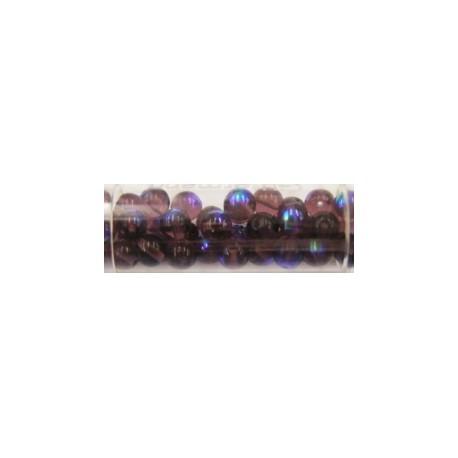 Gutermann regenboogparels 6mm paars ca 40st.