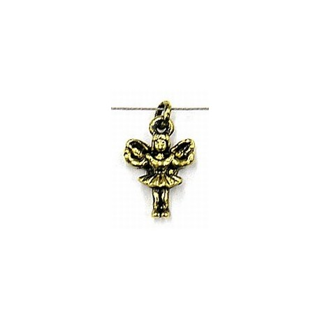 Hanger engel 17x10mm goudkl. per stuk
