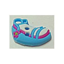 knoop sandaal blauw per stuk