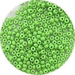Rocailles 10/0 groen 25 gram
