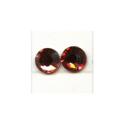 Swarovski plakkristal 4mm indian red p.st.