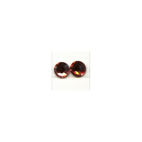 Swarovski plakkristal 4mm indian red p.st.