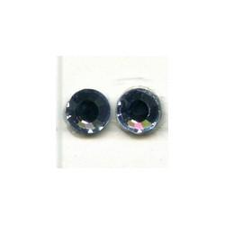 Swarovski plakkristal 4mm licht saffierbl. psst.