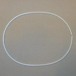 Metalen ring ovaal 13.5 x 19 cm