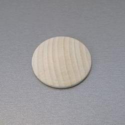 Houten knoop 50 mm per stuk
