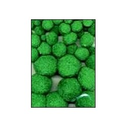 Mix PomPom set (50st) groen