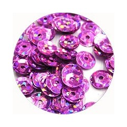 Pailleten cup 6mm rose disco 10 gram
