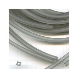 Rijgsnoer kunststof 4mm grijs meter