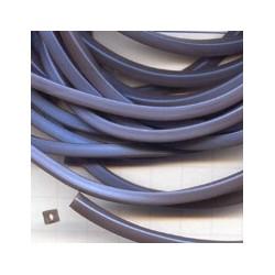 Rijgsnoer kunststof 4mm grijsblauw meter