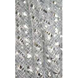 Nylon tube 4mm transparant/zilver p.m.