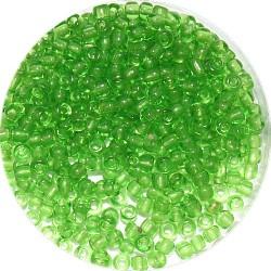 Rocailles 8/0 transp. groen 25gr.