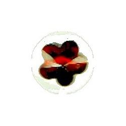 Swarovski hanger bloemvorm 12mm bruin p.st