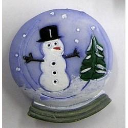 Knoop sneeuwpop 25mm per 2