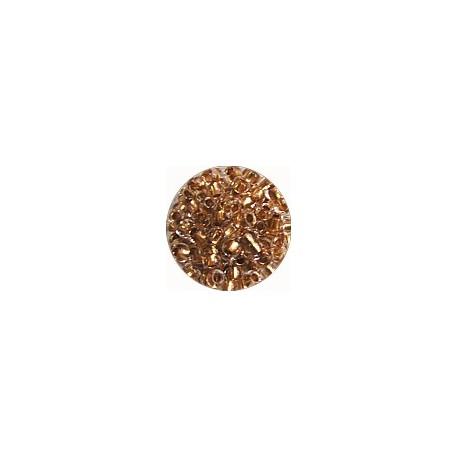 Guterman rocailles 9/0 tr.beige goudkern12 gr