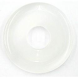 Katoog donut 45mm wit per stuk